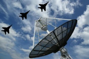 jets-flying-over-satellite-dish